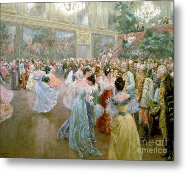 Court Ball At The Hofburg Metal Print