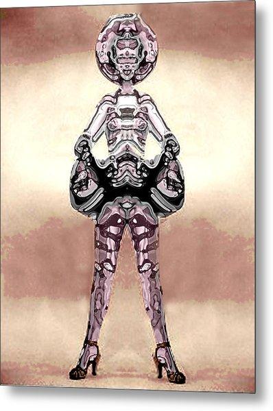 Cowgirl Metal Print by Peter Lloyd