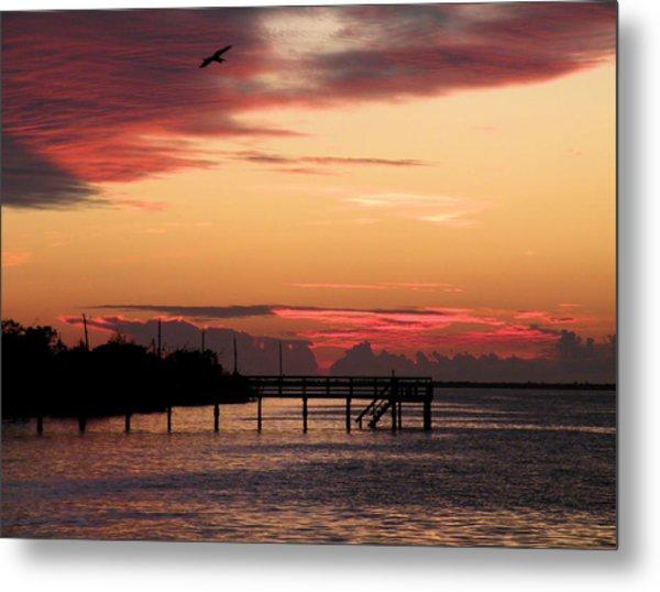 Cranberry Sunset Metal Print by Rosalie Scanlon