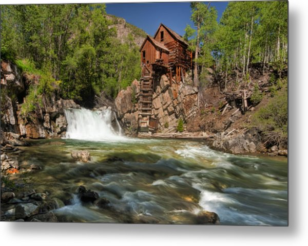 Crystal Mill II Metal Print