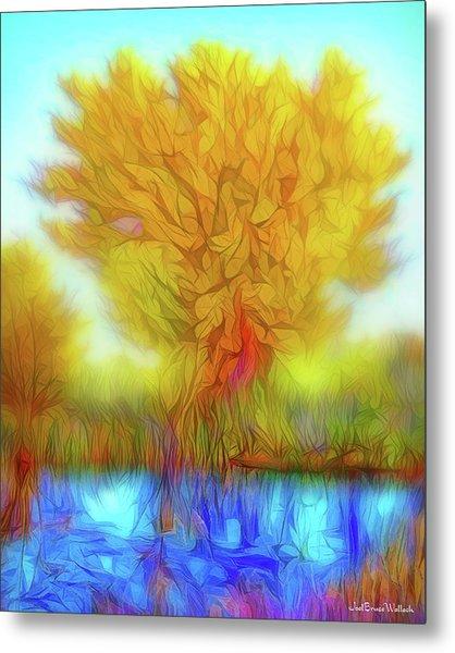 Crystal Pond Dream Metal Print