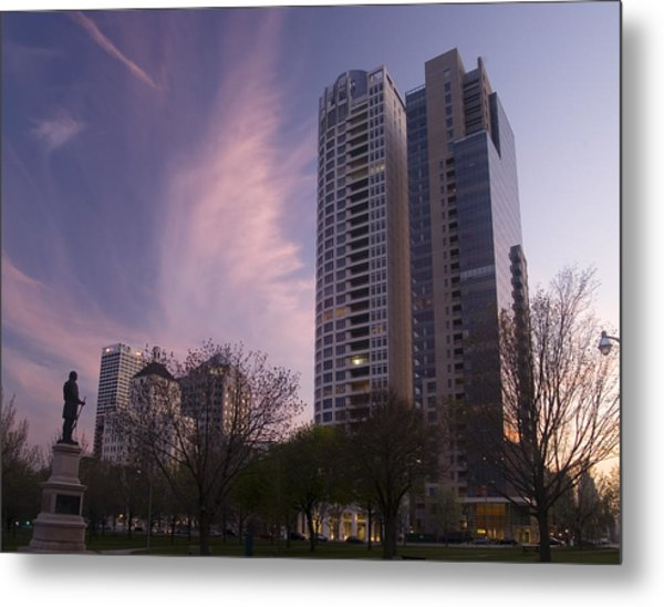 Cudahy Towers Metal Print