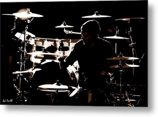 Cymbal-ized Metal Print