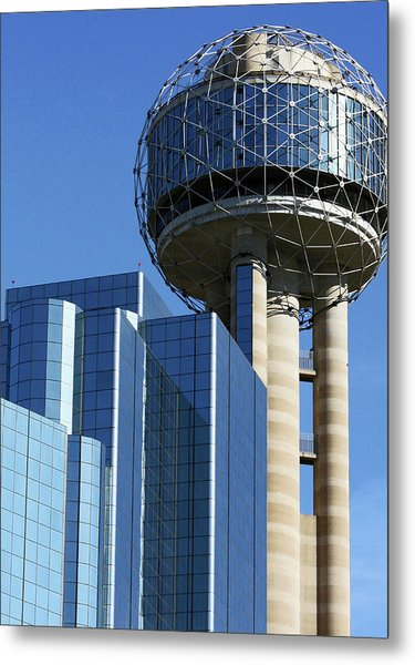 Dallas Dining Scapes Metal Print