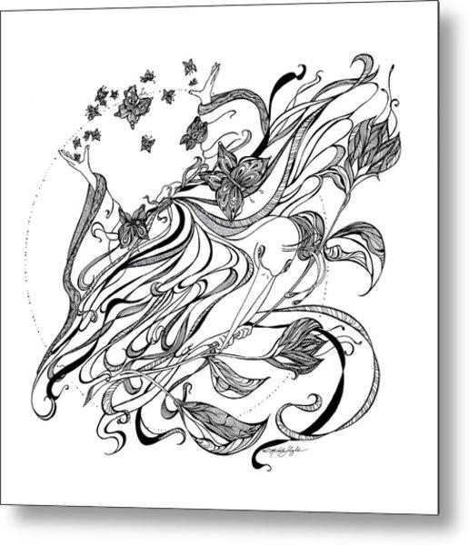 Damia Metal Print