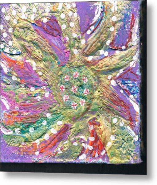 Dancing Flower Blossom Metal Print by Anne-Elizabeth Whiteway