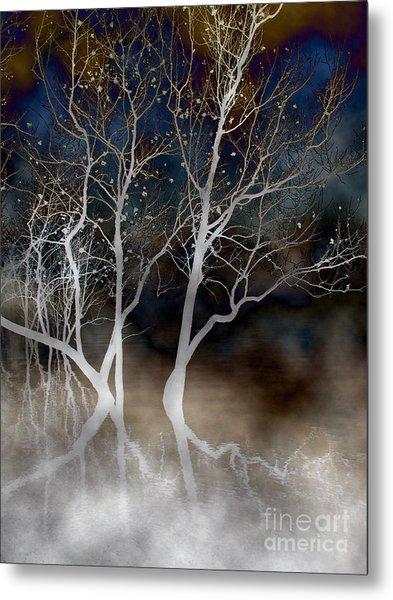Dancing Tree Altered Metal Print