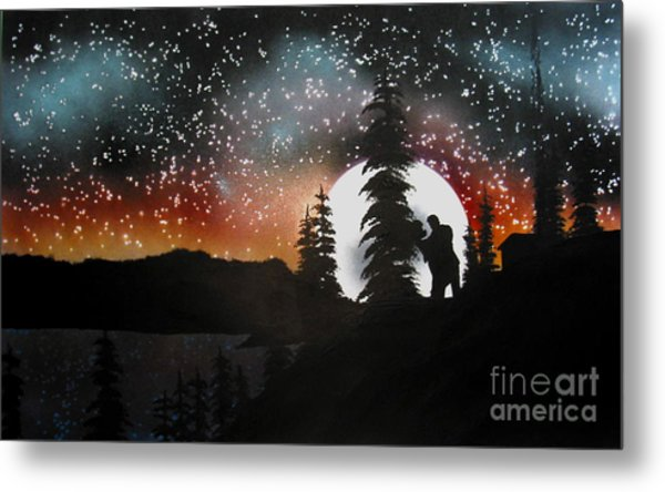 Dancing With You Metal Print by Ed Moore