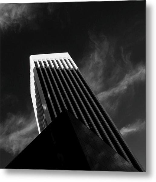Dark Geometry Metal Print