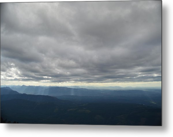 Dark Mountains Metal Print