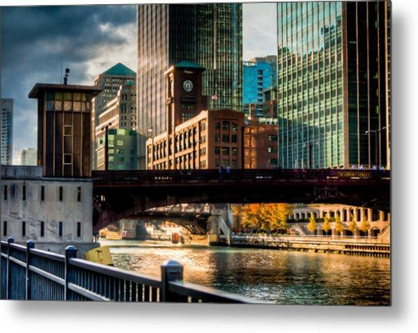 Dearborn Bridge Metal Print