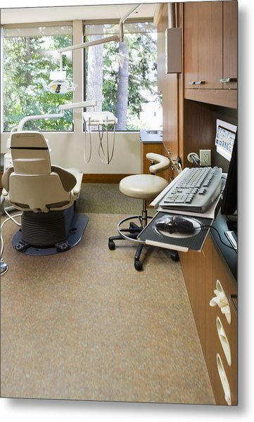 Dentist Office Metal Print