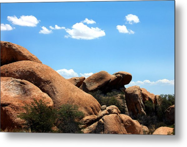 Desert Ancients Metal Print by Heather S Huston