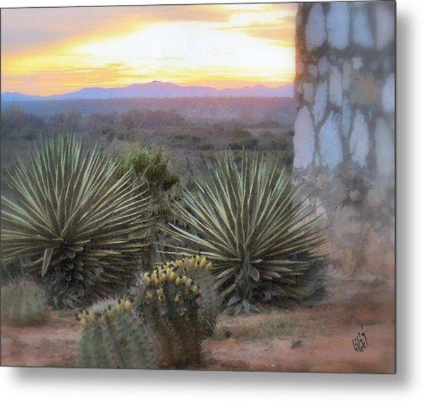 Desert Dawn Metal Print by Kathy Simandl
