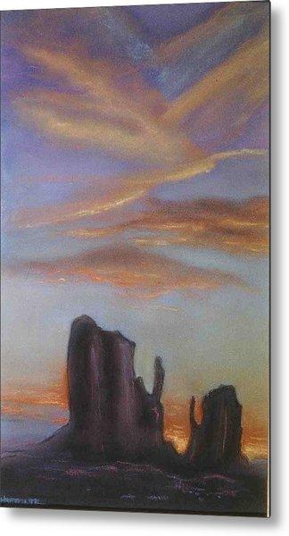 Desert Sky Metal Print by Helen O Hara