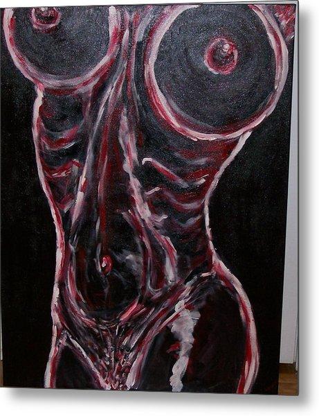 Desire Metal Print by Francis Bourque