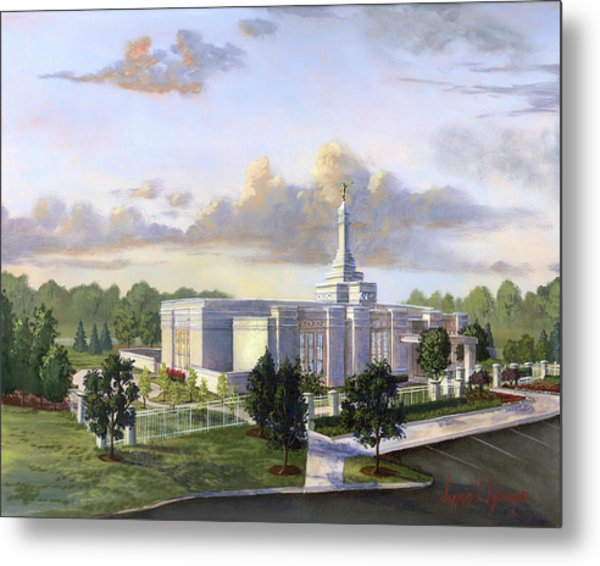 Detroit Michigan Temple Metal Print
