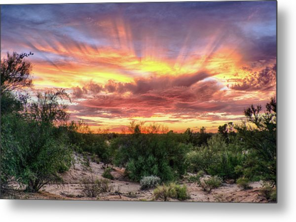 Diamond Sky Metal Print