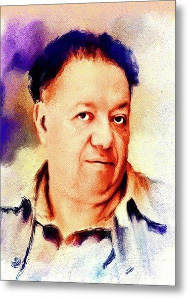Diego Rivera, Famous Artist Metal Print