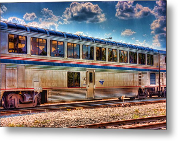 Dine And Ride Metal Print