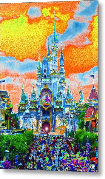 Disney At Fifty Metal Print