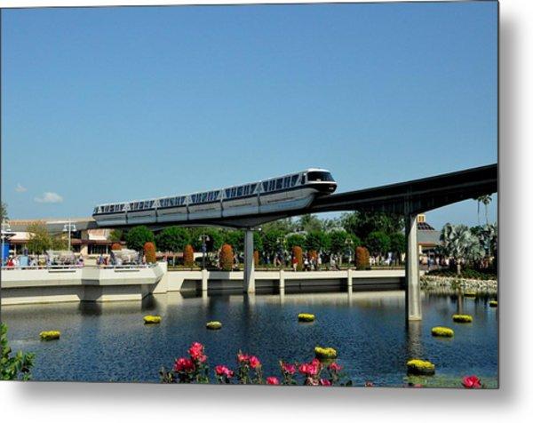 Disney Monorail Metal Print