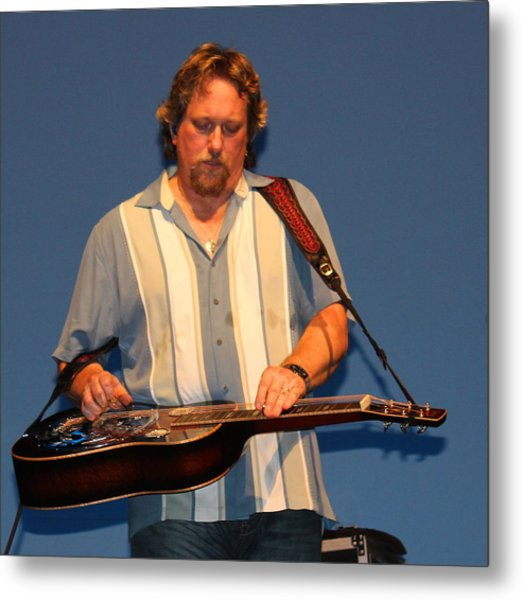 Dobro King Metal Print by Wild Expressions Photography