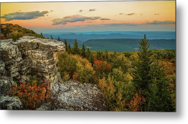 Dolly Sods Autumn Sundown Metal Print