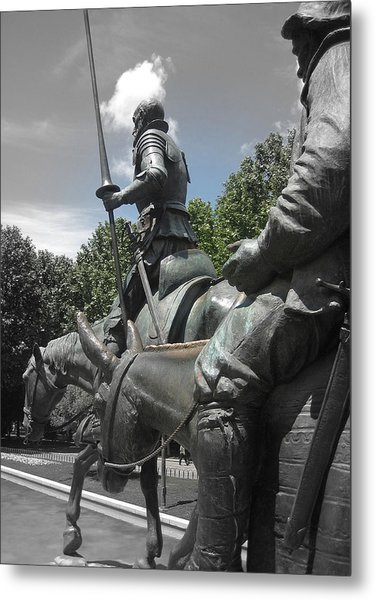 Don Quixote Metal Print by JAMART Photography