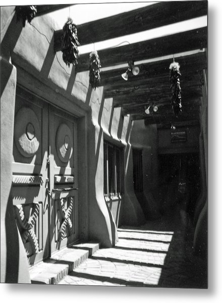 Doors And Shadows Metal Print