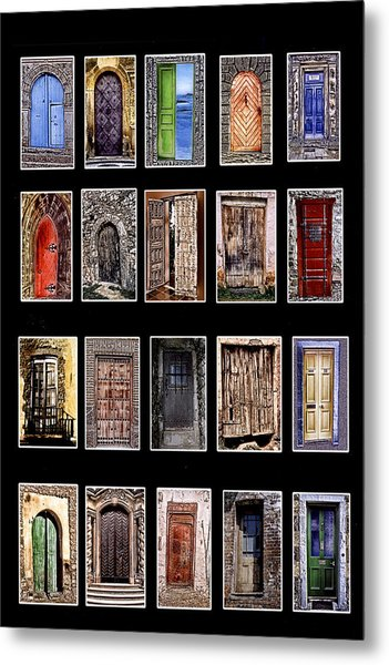 Doors Of The World Metal Print by Rianna Stackhouse