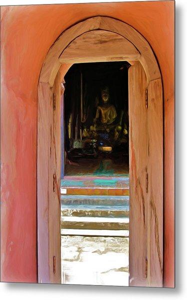 Doorway To Enlightenment Metal Print