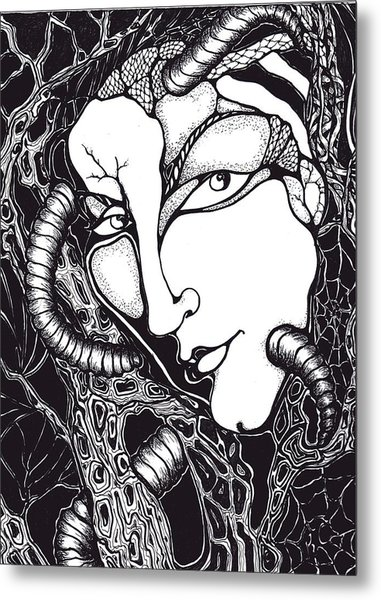 Doubt Metal Print by Rae Chichilnitsky
