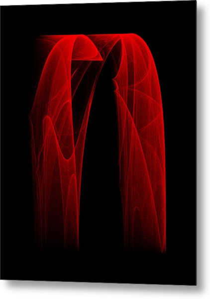 Draping Fall II Metal Print