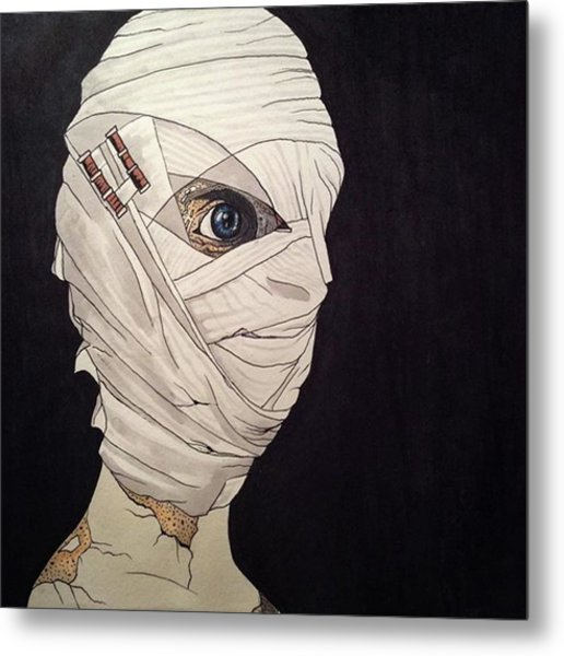 Mummy Monday Metal Print