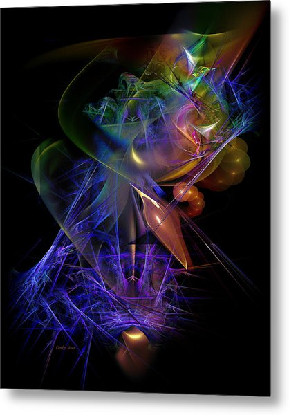 Drenched In Color Metal Print by Carolyn Staut