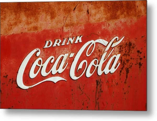 Drink Coca Cola  Metal Print