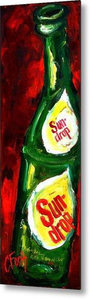 Drop Of Sun Metal Print
