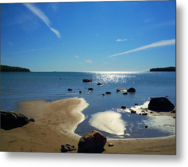 Drummond Shore 1 Metal Print