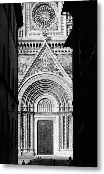 Duomo I Metal Print by Artecco Fine Art Photography