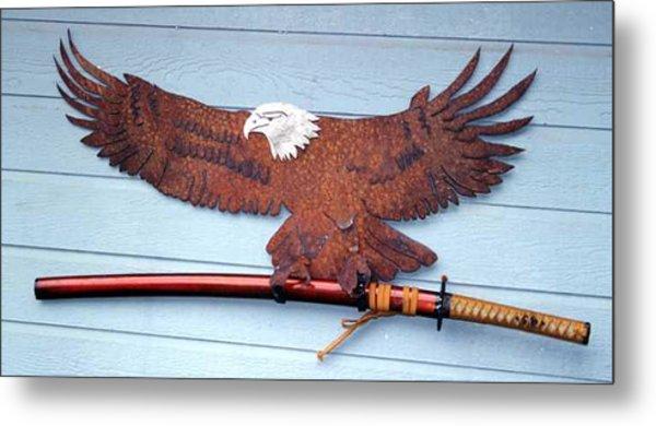 Eagle Sold   Metal Print by Steve Mudge