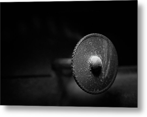 Early American Dimmer Switch Metal Print
