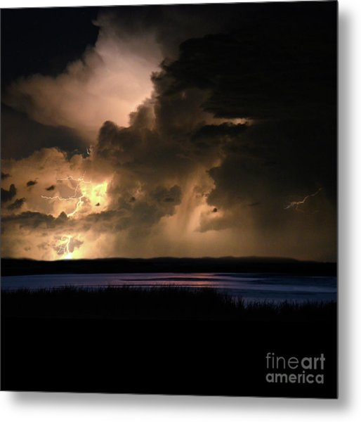 Earth Is A Spectacular Place To Visit Metal Print