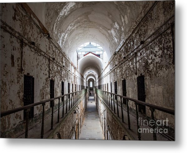 Eastern State Penitentiary Cell  Metal Print