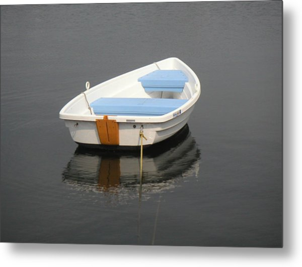 Easy Street Boat Basin Nantucket Ma Metal Print