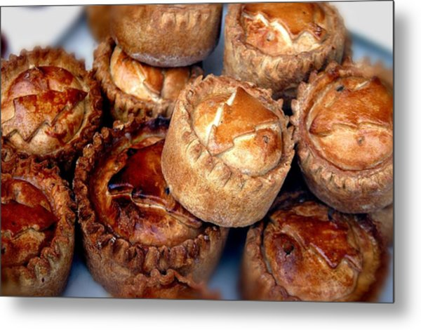 Eat All The Pies Metal Print by Jez C Self