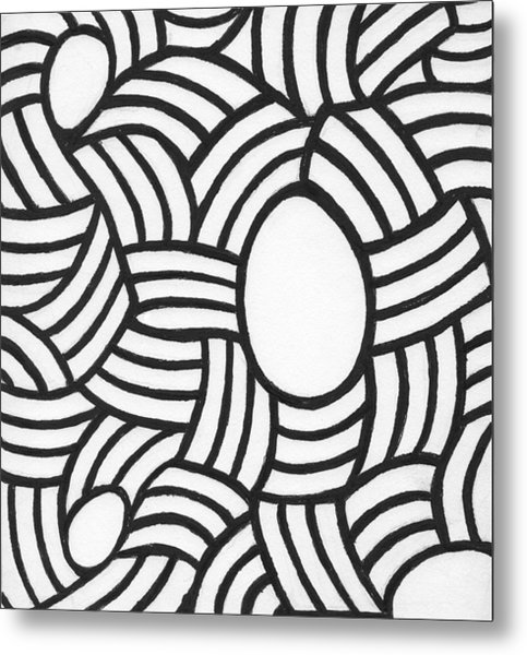 Egg Drawing Mm0308 Metal Print