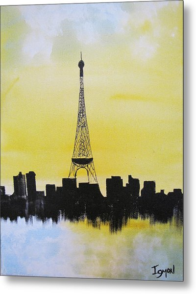Eiffel Of Paris Metal Print