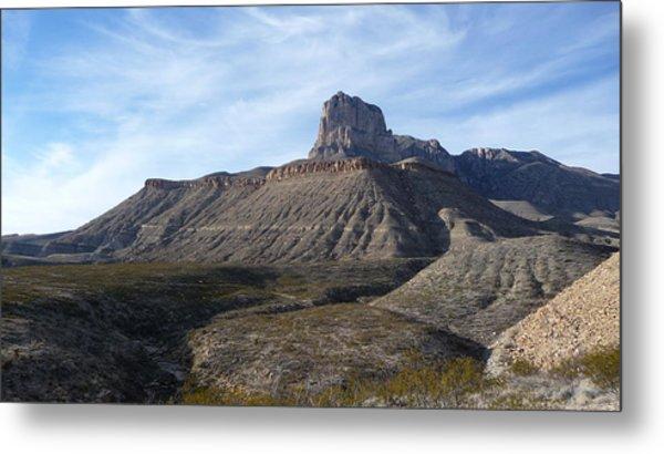 El Capitan - Guadalupe Mountains National Park Metal Print