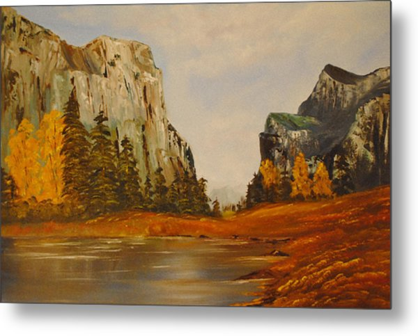 El Capitan Yosemite Valley Metal Print by James Higgins